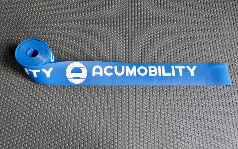 acumobility floss band level 2 blue