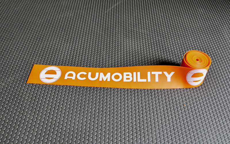acumobility floss band level 1 orange