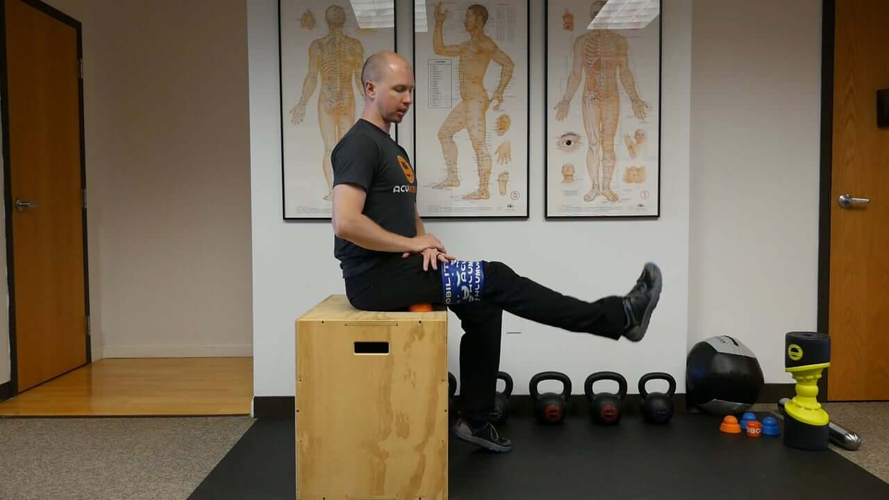 Hamstring Flossing and Trigger Point Release Video