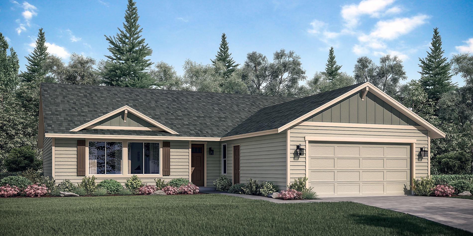 The Caldera Custom Floor Plan Adair Homes Caldera Home