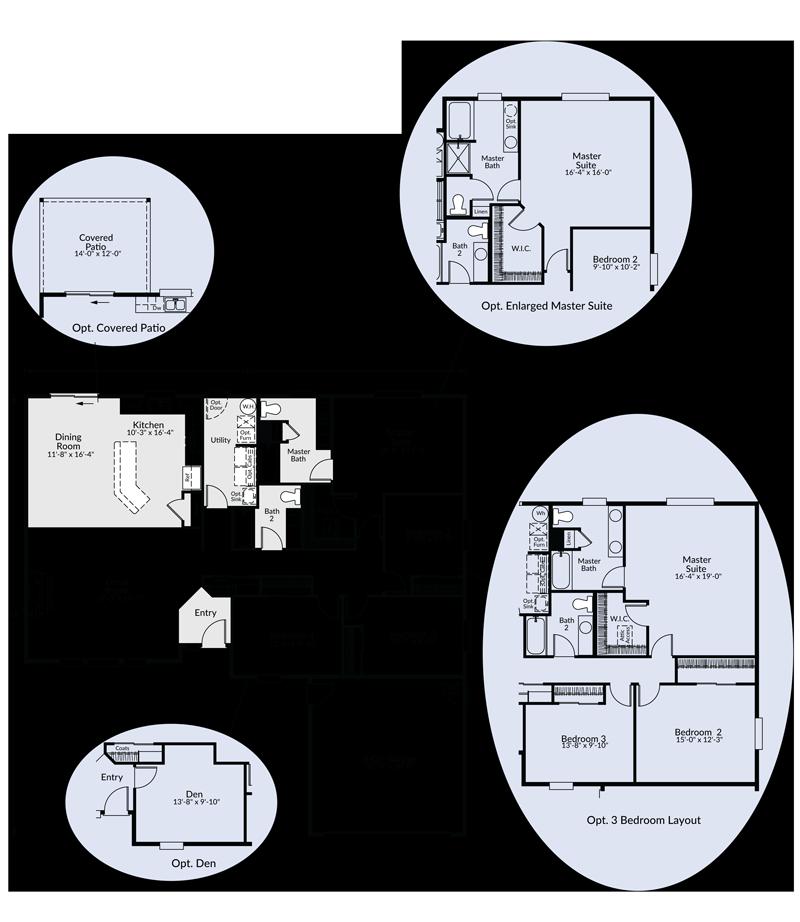 The alexander custom floor plan adair homes for Adair homes floor plans prices