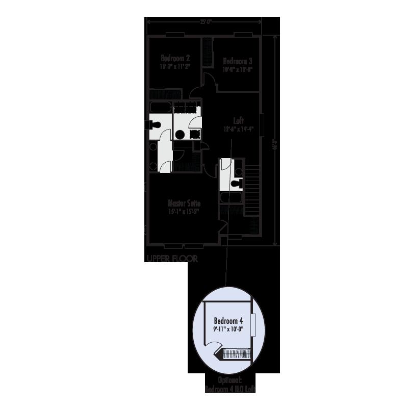 The Jefferson Custom Floor Plan Adair Homes