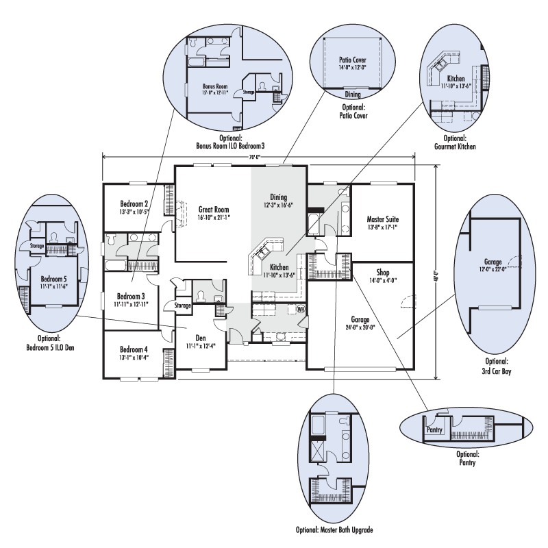 The Madison Custom Floor Plan Adair Homes,Madison.Home Plans Ideas