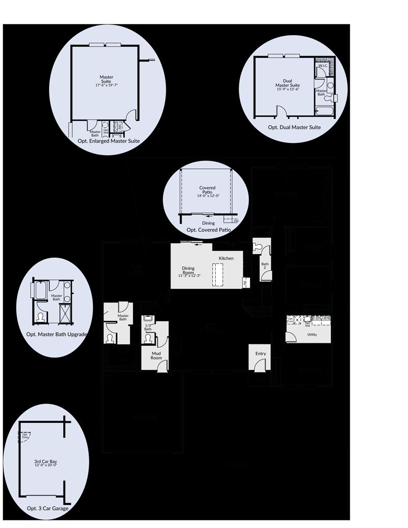 The St Helens Custom Floor Plan Adair Homes