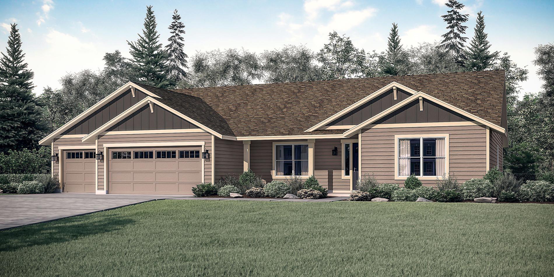 The Mt Hood Custom Floor Plan Adair Homes
