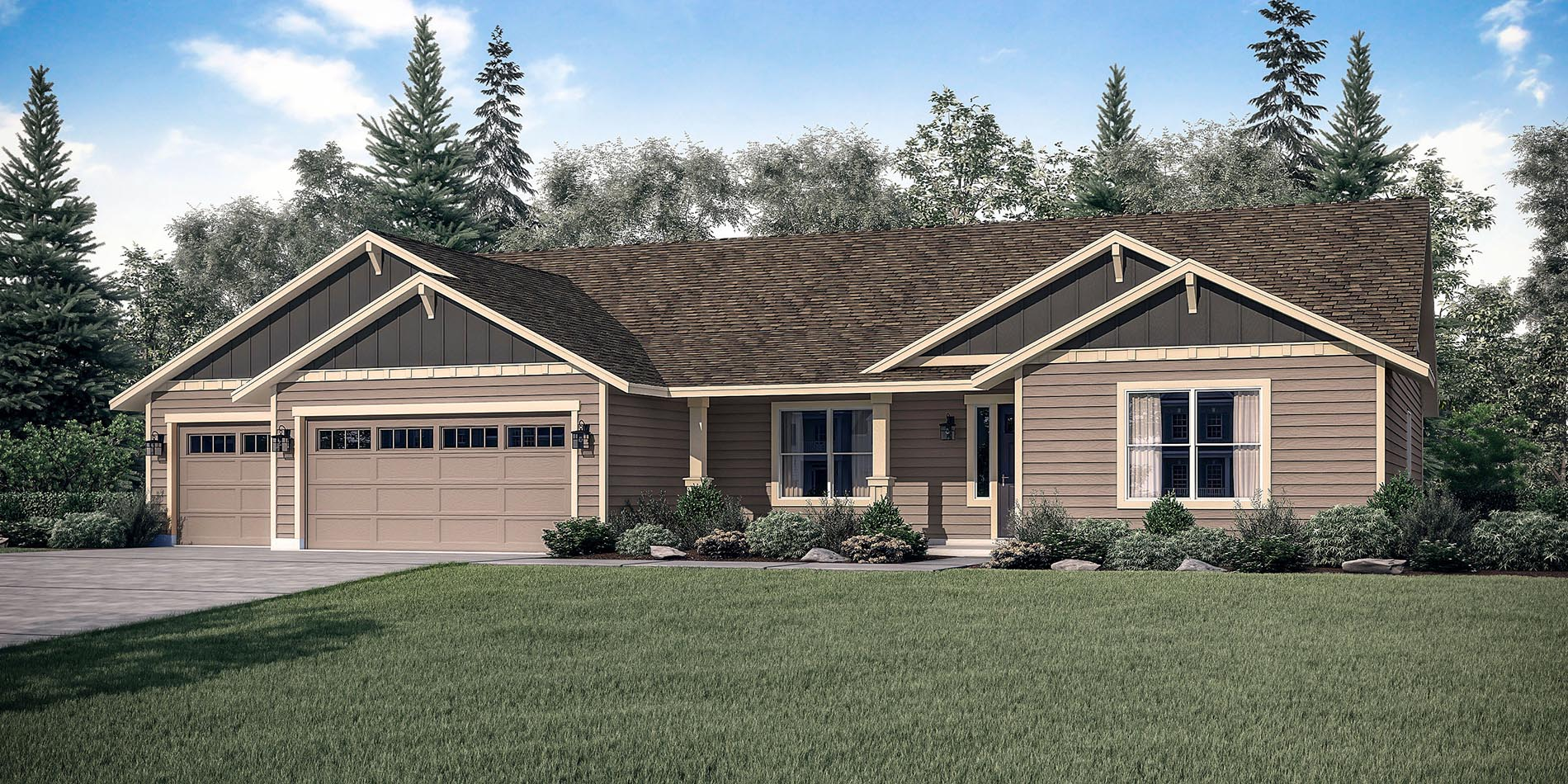The mt hood custom floor plan adair homes for Adair home plans