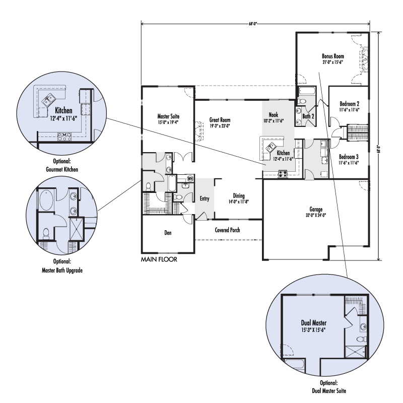 Adair homes 2160 floor plan home review for Adair home plans