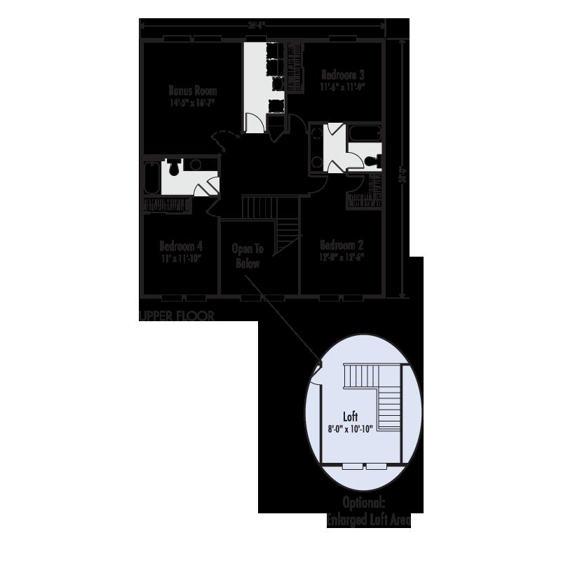 Adair Homes Plan 3217 Home