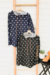 Polka Dot Hoodies