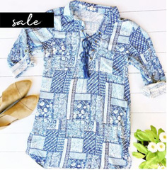 Free Spirit Patchwork Blouse