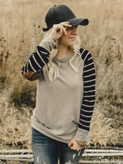 Lyssa Striped Pullover