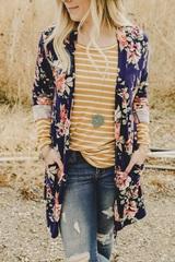 Ivy Ann Floral Cardi
