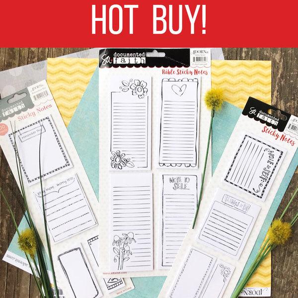 Hot Buy - DF Sticky Notes