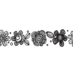 Doodle Flowers Washi Tape