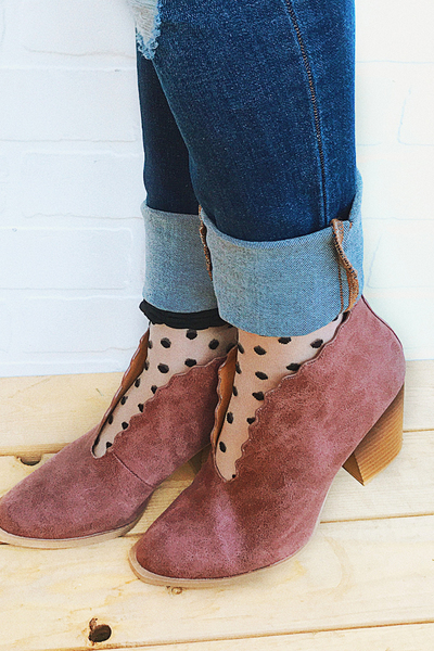 Berry Cute Heel