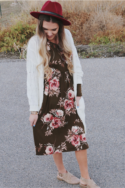 Lottie Ann Midi Dress