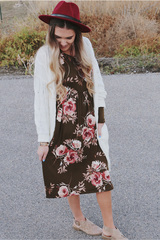 Lottie Ann Midi Dress