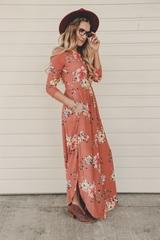 Blush Blossom Maxi