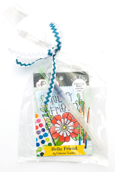 Hello Friend Watercolor Gift Set