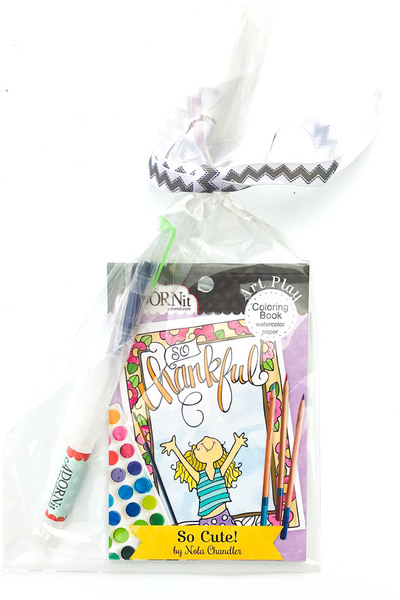 So Cute Watercolor Gift Set
