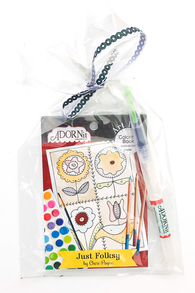 Just Folksy Watercolor Gift Set