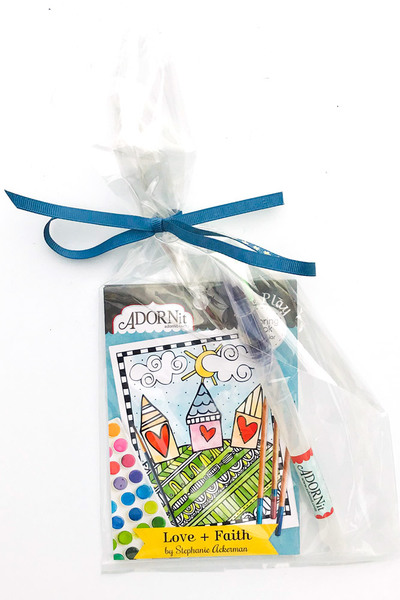 Love + Faith Watercolor Gift Set
