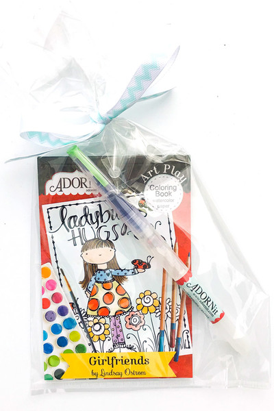 Girlfriends Watercolor Gift Set