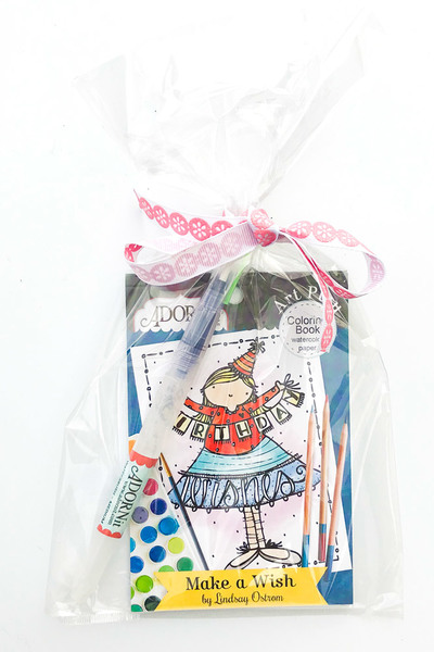 Make A Wish Watercolor Gift Set