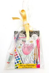 Flamingo Fever Watercolor Gift Set