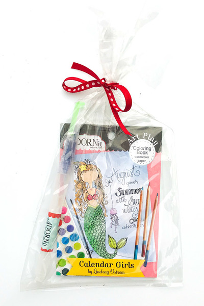 Calendar Girls Watercolor Gift Set