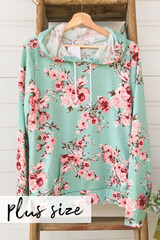 Blush Blossom Hoodie