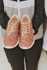 Rose Gold Sneaks