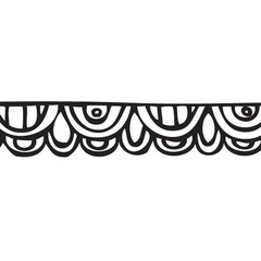 Doodle Scallop Washi Tape