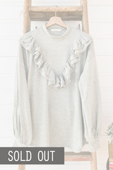 Ruffle Ruffle Sweater