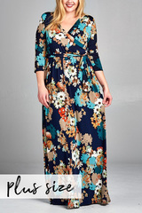 Scattered Blooms Maxi