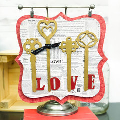 Love Key Plaque