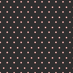 Licorice Dots Scrapbook Paper