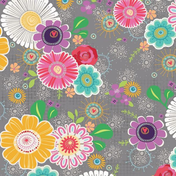 Picking Flowers Fabric