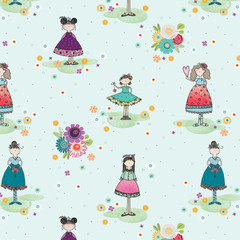 Girlfriends Fabric