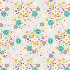 Field of Flowers Fabric