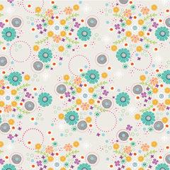 Field of Flowers Fabric