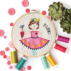 Sunshine Girls Stitchery MONTHLY/ Without Buttons