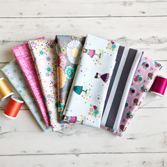 Sunshine Girls Fat Quarter Stack