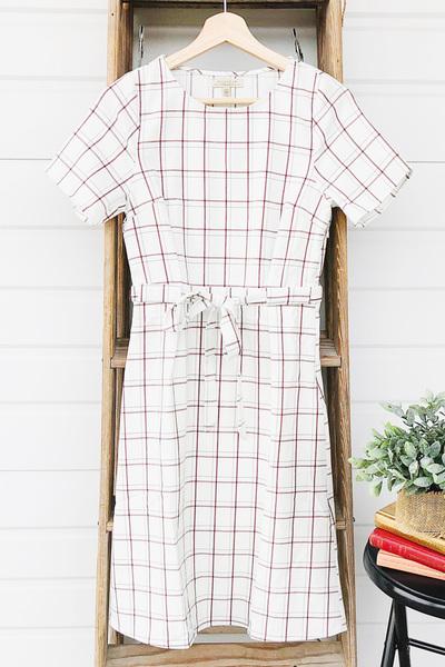 Marlow Grid Dress