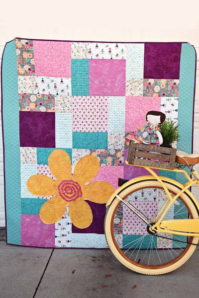 Sunshine Patchwork Quilt Kit