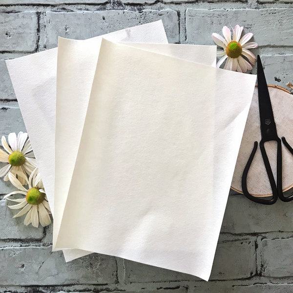 Blank Embroidery Paper