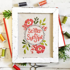 Scatter Sunshine Stitchery MONTHLY