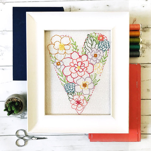 Beautiful Blooms Stitchery MONTHLY