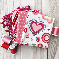 1/2 yard Valentine Surprise Bundle