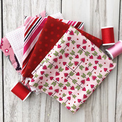 1/4 yard Valentine Surprise Bundle